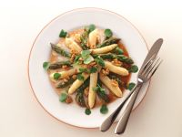 Asparagus Salad with Watercress and Walnut Dressing recipe