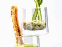 Asparagus Soup with Bacon recipe