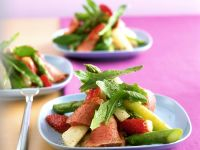 Asparagus, Strawberry and Duck Salad recipe