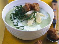 Asparagus-Wild Garlic Soup recipe