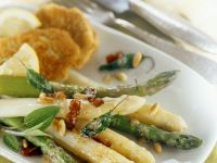 Asparagus with Bacon Butter recipe