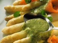 Asparagus with Herb Sauce recipe