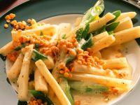 Asparagus with Lentils recipe