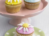 Assorted Flower Fairy Cakes recipe