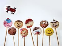 Assorted Kids Cookies on Sticks recipe