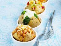 Assorted Stuffed Potatoes recipe