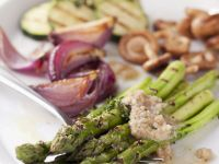 Assorted Veg Platter with Nut Sauce recipe