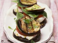 Aubergine Stacks recipe