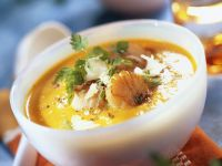 Autumn Bisque with Shellfish recipe