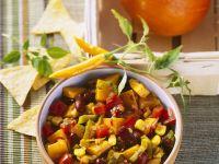 Autumn Pumpkin and Vegetable Chili recipe