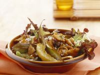 Autumn Salad with Chanterelles recipe