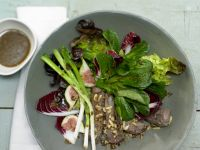Autumn Salad with Lamb Fillet recipe