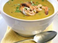 Autumn Vegetable Bisque with Shellfish recipe