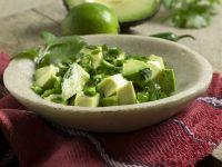 Avocado and Cilantro Salad with Lime recipe