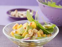 Avocado and Mango Salad with Cashews recipe