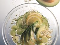 Avocado and Melon Salad recipe