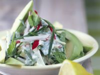 Avocado and Radish Salad recipe