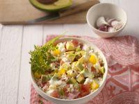 Avocado and Rice Salad recipe