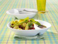 Avocado Grape Salad with Pomegranate Seeds recipe