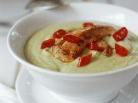 Avocado Soup with Chicken recipe