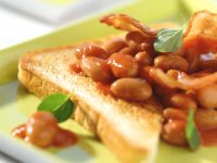 Bacon and Beans on Toast recipe