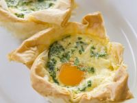 Bacon Quiche Tarts recipe