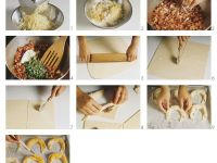 Bacon and Onion Filled Crescent Rolls recipe