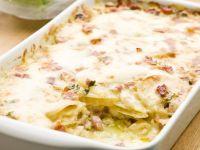 Bacon and Potato Oven Bake recipe