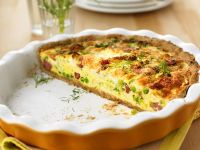 Bacon and Vegetable Quiche recipe