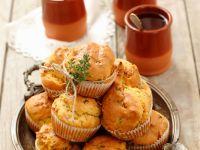 Bacon and Walnut Muffins recipe