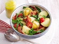 Bacon, Cherry Tomato, and Potato Bowl recipe