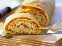 Bacon Sauerkraut Strudel recipe