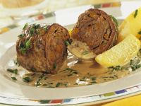 Bacon Stuffed Beef Roulades recipe