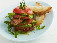 Bacon, Tomato, and Avocado Stacks recipe
