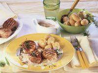 Bacon-Wrapped Pork Medallions recipe