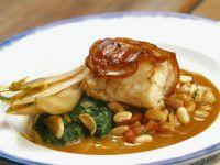 Bacon-wrapped Sea Bass recipe