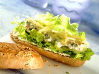 Baguette with Tuna Salad recipe
