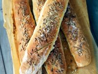 Baguettes with Sunflower Seeds recipe
