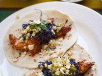 Baja-style Catfish & Cabbage Tacos recipe