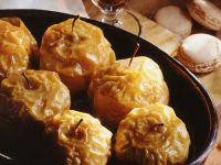 Baked Apples Stuffed with Candied Citrus Peel and Hazelnuts recipe