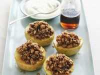 Baked Apples Stuffed with Fig and Cinnamon Granola recipe