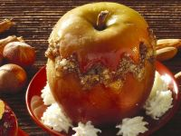 Baked Apples Stuffed with Hazelnuts recipe