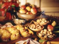 Baked Apples with Marzipan recipe
