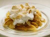 Baked Apples with Meringue Topping recipe