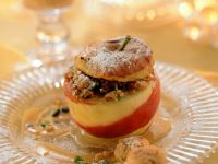 Baked Apples with Oatmeal Stuffing recipe