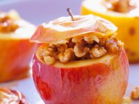 Baked Apples with Walnuts recipe