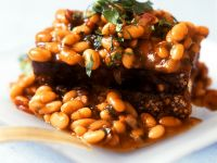 Baked Beans with Bread recipe