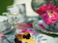 Baked Blackcurrant Cheesecake recipe