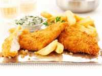 Baked Breaded Chicken Fillets recipe