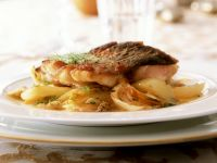 Baked Carp with Fennel and Orange recipe